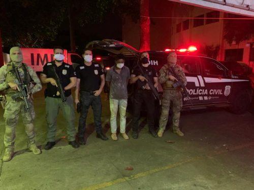Preso no Tocantins suspeito de matar ex-policial federal em Goiânia