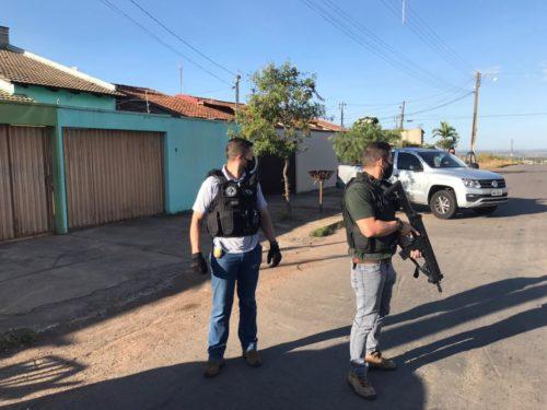Indivíduo de alta periculosidade, suspeito de assalto a carro-forte no Pará, é preso pela Polícia Civil de Goiás