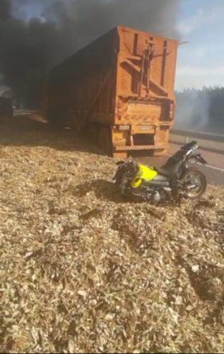 Polícia Civil, por meio da CORE/GT3, salva vida de motociclista em acidente na Rodovia Anhanguera, interior de São Paulo