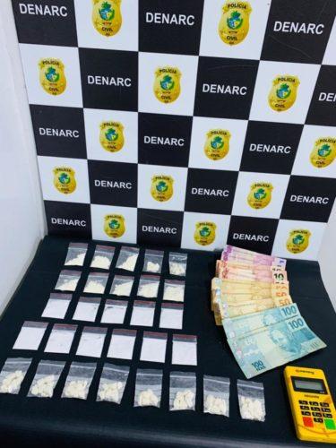 Homem é preso suspeito de se passar por taxista para traficar drogas; ele já havia sido preso, pelo mesmo crime, em fevereiro