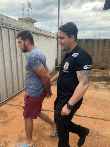 Operação Lucro Fácil, Cadeia à Vista: PCGO prende jovem considerado um dos maiores estelionatários do norte goiano