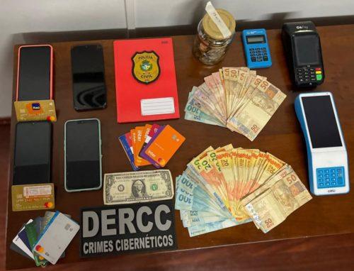 Cibernéticos prende quatro pessoas envolvidas em golpe via Whatsapp contra idosos de Pirenópolis