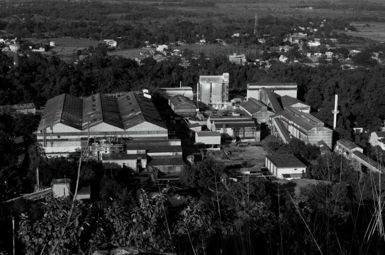 Uranium Corporation of India Ltd. headquarters in Jadugoda, Jharkhand State. The company, is wholly owned by the Indian government. (Photo:Ashish Birulee)