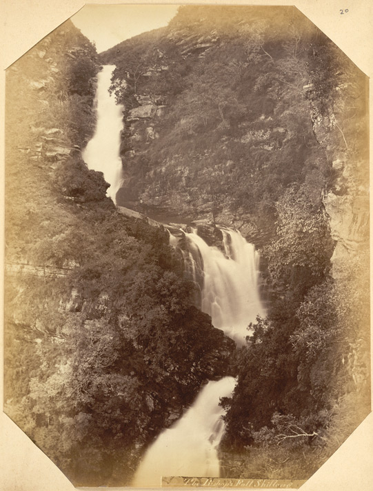 """""""The Bishop's Fall, Shillong. Kassia Hills"""" 