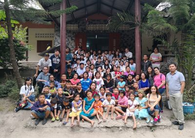 Preschool , grade 7 and 8 joined Outreach Activity @ Bilay's house Ratchaburi on January 20, 2018
