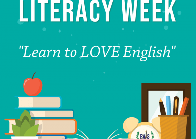 English Literacy Week 2018 Learn to LOVE English March 19-23, 2018