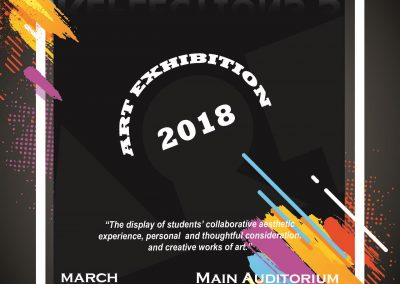 Art Exhibition 2018 REFLECTIONS 3 March 26-30, 2018