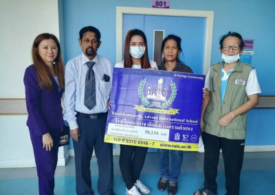 RAIS Community cares for the driver who was injured in an accident