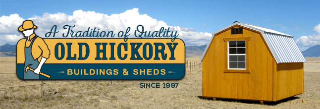 Old Hickory Shed Sales