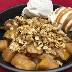 Glute Free, Vegan, Crispy Oat Apple Pie