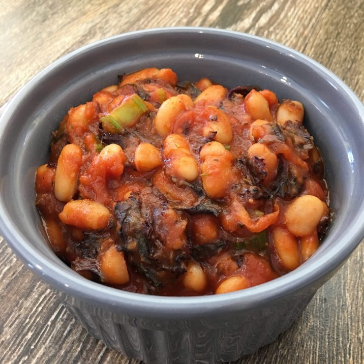 Kale & Bean Stew by The Allergy Chef