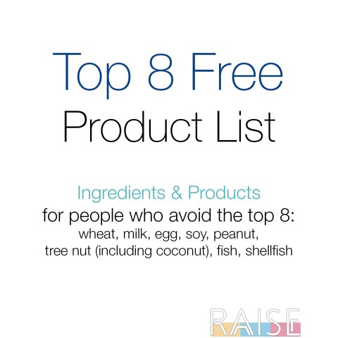 Top 8 Allergy Free Safe Product List