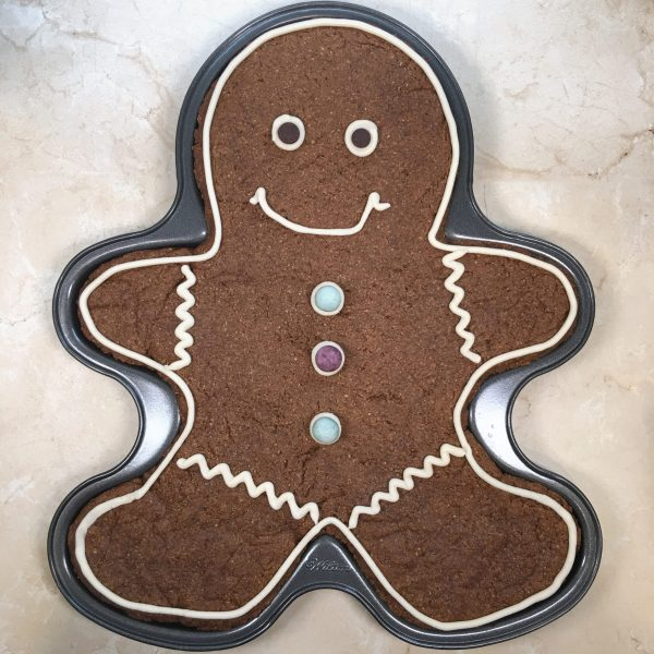 Giant Gingerbread Man by The Allergy Chef