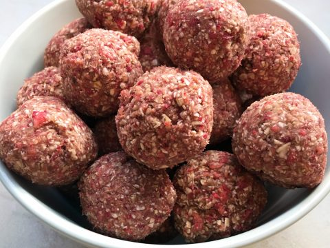 Strawberry Power Balls by The Allergy Chef