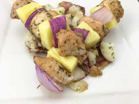 Tropical Pineapple Skewers by The Allergy Chef