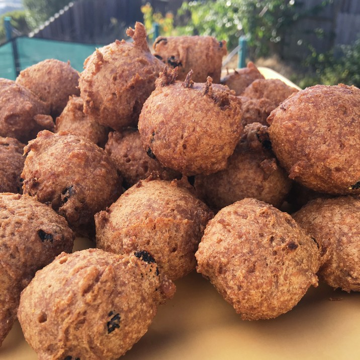 Gluten Free Carrot Cake Fritters by The Allergy Chef