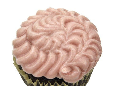 Pink Peppermint Cupcake by The Allergy Chef