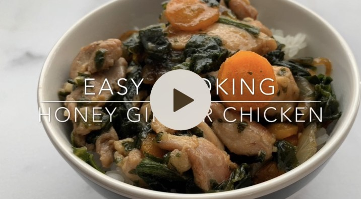 Ginger Chicken by The Allergy Chef