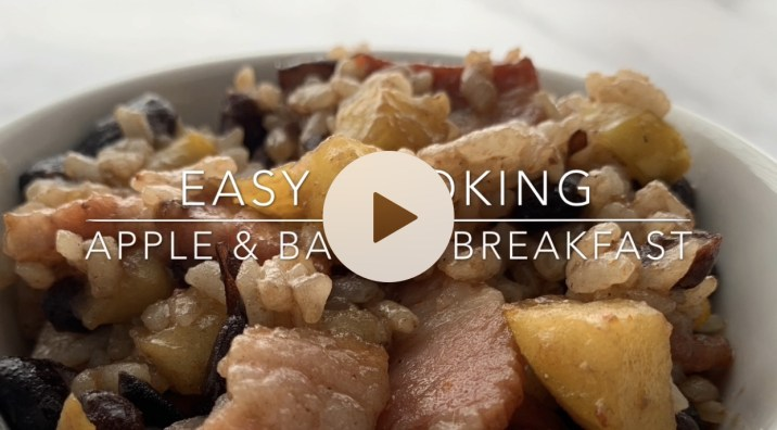 Easy Cooking Video: Apple & Bacon Breakfast by The Allergy Chef
