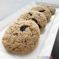 Refined Sugar Free GF V Chocolate Chip Cookies by The Allergy Chef