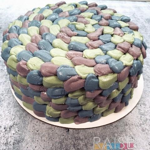 Gluten Free Vegan Mermaid Cake by The Allergy Chef