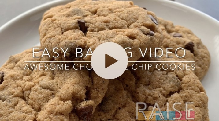 Top 8 Allergy Free, Gluten Free, Vegan Chocolate Chip Cookies by The Allergy Chef