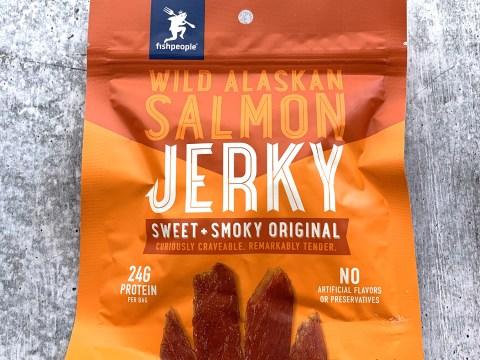 Fishpeople Wild Alaskan Salmon Jerkey