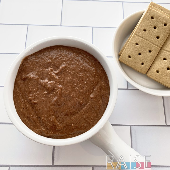 Vegan, Gluten Free, Top 8 Free Chocolate Hummus by The Allergy Chef