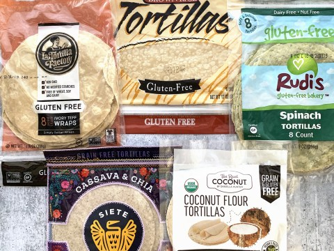 Gluten Free Tortillas by The Allergy Chef