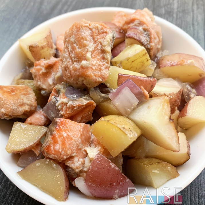 Easy Sheet Pan Salmon Dinner by The Allergy Chef
