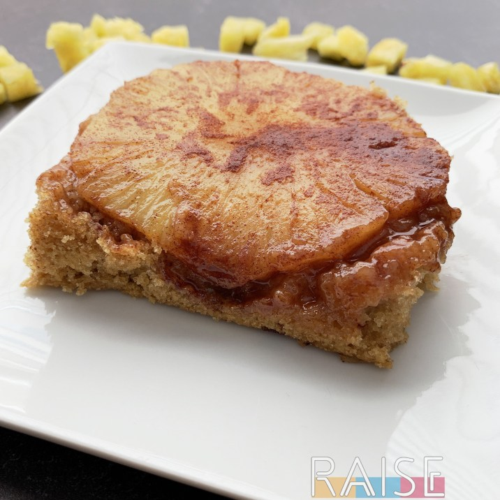 Pineapple Upsidedown Cake by The Allergy Chef