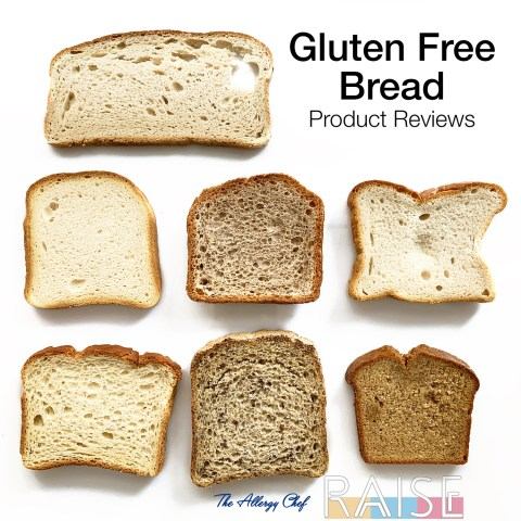 Gluten Free Bread by The Allergy Chef