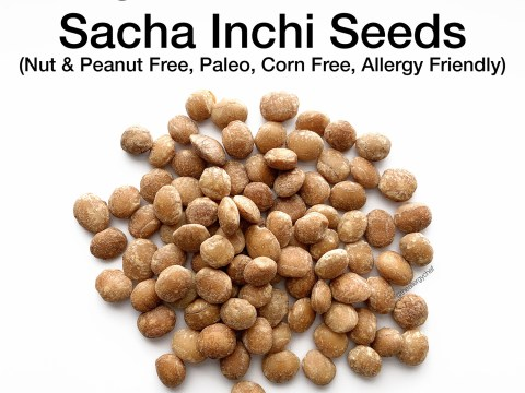 Sacha Inchi Seeds by The Allergy Chef