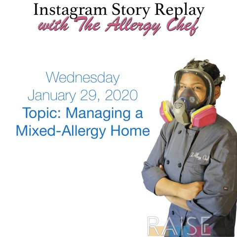 Talking About Managing a Mixed-Alergy Household with The Allergy Chef