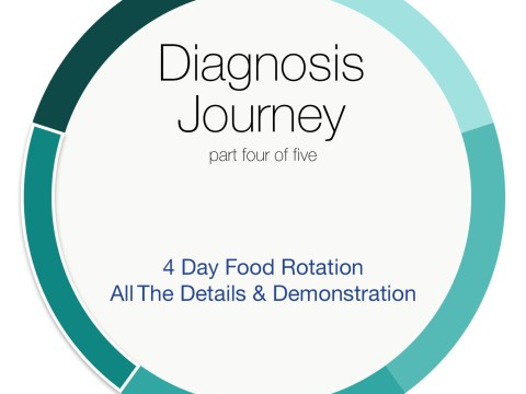 Diagnosis Journey part Four with The Allergy Chef