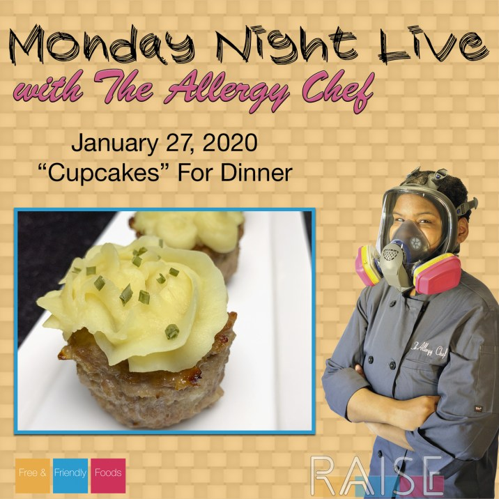"Monday Night Live ""Cupcakes"" For Dinner"