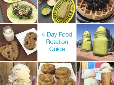 4 Day Food Rotation Guide