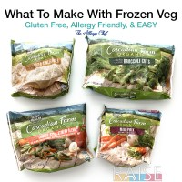 Organic Frozen Vegetables by The Allergy Chef