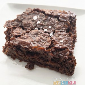Gluten Free, Vegan, Top 8 Allergy Free Brownies by The Allergy Chef