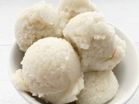 Dairy Free, COrn Free, Vegan Ice Cream by The Allergy Chef
