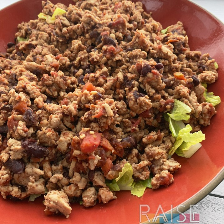 Top 8 Allergy Free Faux BBQ Sourthwestern Salad by The Allergy Chef