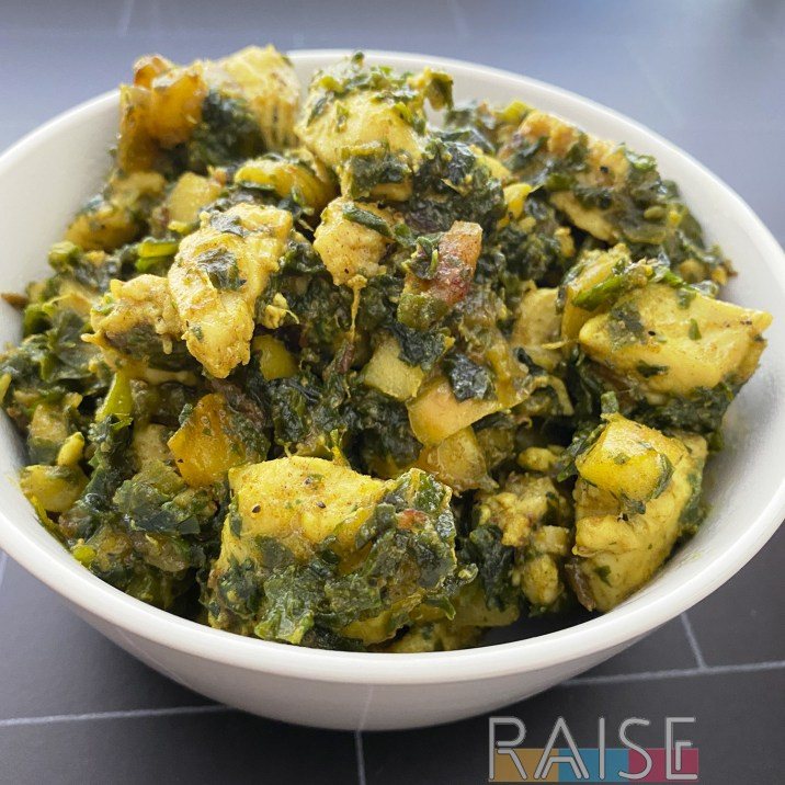 Kale & Date Chicken by The Allergy Chef