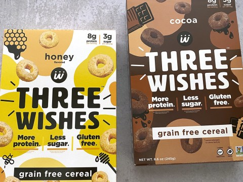 Three Wishes Cereal, Honey and Chocolate