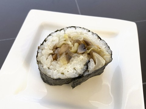Gluten Free, Top 8 Allergy Free Hot Sushi by The Allergy Chef