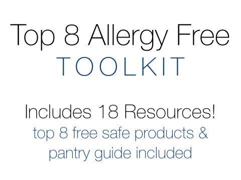 Top 8 Allergy Free Toolkit