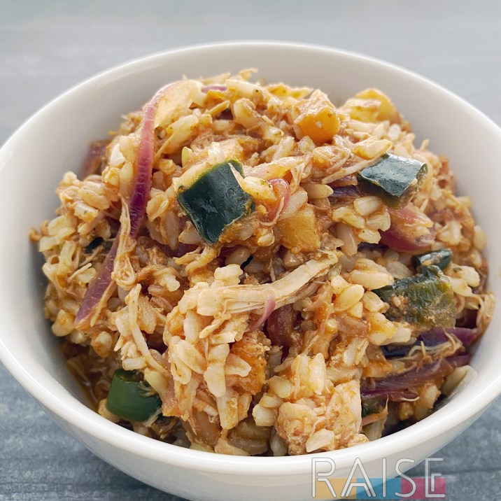 Pineapple Chicken & Rice by The Allergy Chef