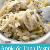 Dairy Free Creamy Tuna & Apple Pasta