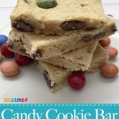 Gluten Free Top 8 Allergy Free Candy Cookie Bar