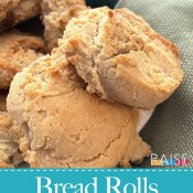 Truly Corn Free, Gluten Free Bread Rolls (Vegan)