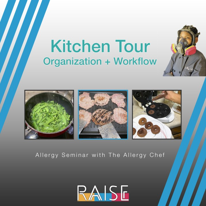 Allergy Seminar: Kitchen Tour with The Allergy Chef